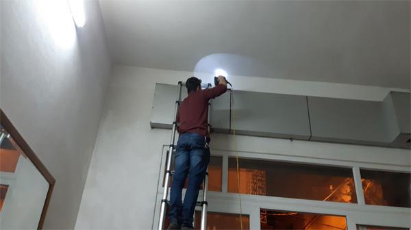 Sửa chữa cửa cuốn tại Hàng Bông
